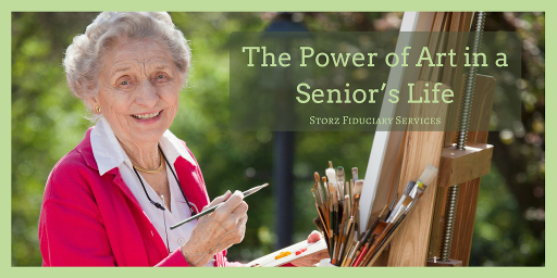 The Power of Art in a Senior's Life