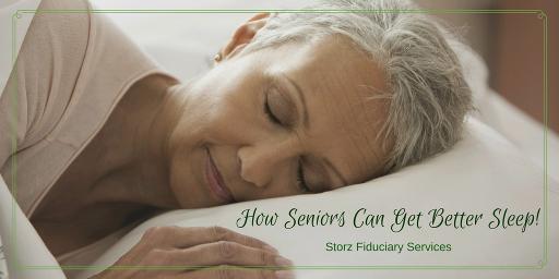 How Seniors Can Get Better Sleep
